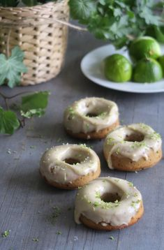 Key Lime, Doughnut, Desserts, Food, Tailgate Desserts, Deserts, Essen, Postres, Meals