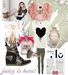 """""""juicy is here!"""" by giulia-balbo on Polyvore"""