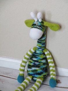 A personal favorite from my Etsy shop https://www.etsy.com/listing/229225875/crochet-giraffe-toy