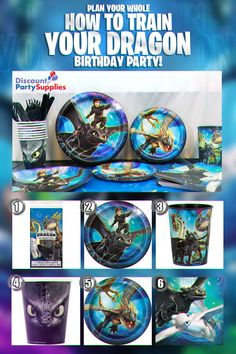 c11089e462007 How to Train Your Dragon 2 party supplies are getting ready for a landing  here at