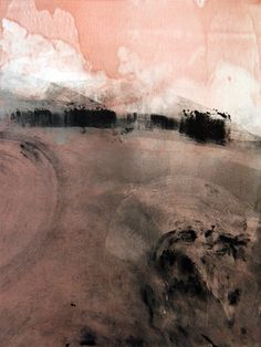 Beautiful monotype from Chris Mullins I chose this because the whole image is slightly merged together in a large unclear and unfocused piece but you can still see what things are. It is presented to be like a lost city among the mist which is a type of idea I quite like.