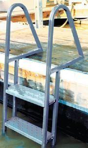 5 Step Wet Steps Dock Ladders Dock Ladder Lakefront Living Lake Dock