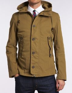 Draco Dense Twill Jacket. @Ben Silbermann has awesome style. Love this dress up/dress down MAN jacket.