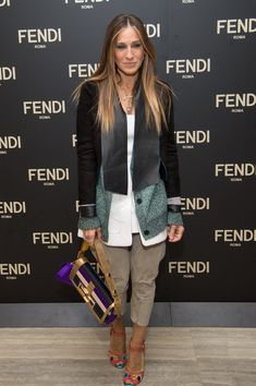 Sarah Jessica Parker Photos - Fendi Celebrates The Opening Of The New York Flagship Store - Dinner - Zimbio