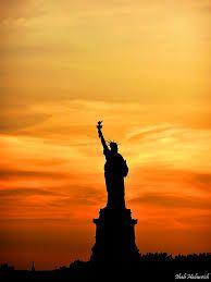 statue of liberty silhouette - Google Search