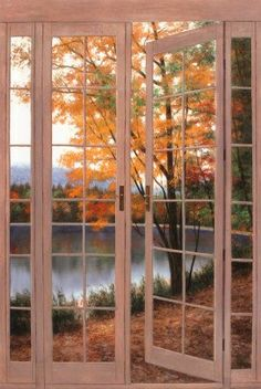 Autumn view moment love