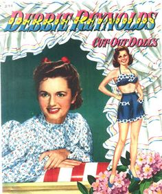 Debbie Reynolds Cut-Out Dolls, #1178 Whitman 1953 (10 of 10)