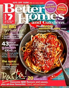 Better homes gardens march 2014 magazines magsmoveme Yahoo better homes and gardens