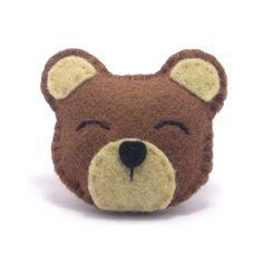 felt bear ...