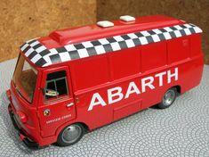 KIT Fiat Furgone 625 Assistenza Corse Abarth 1968 IV Model Scala 1 43 | eBay