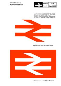Nationalised Treasure As Oliver Bothwell points out, Gerald Barney's logo for British Rail is a true design classic. Created at a time of great optimism, it still cuts through the visual chaos which now permeates Britain's rail system.