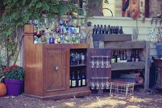 Eclectic DIY Backyard Illinois Wedding