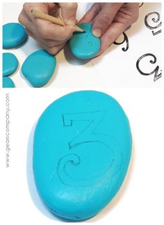 Ideas para hacer con niños. » Pintando piedras… (paso a Paso)