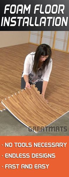 One of the easiest DIY floors to install, Foam Floor Tiles can make you feel like a professional.