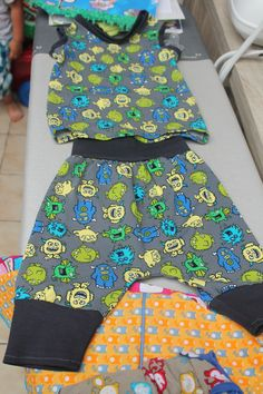 pyjama setje patroon ottobre