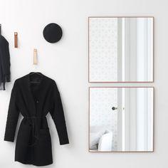 Svenssons i Lammhult - Möbler - Speglar / View spegel / koppar, 56x56 cm
