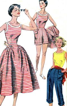 Vintage Sewing Pattern 1950s Simplicity 4290 by paneenjerez, $16.00
