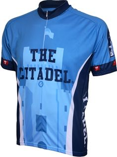 The Citadel Bulldogs Cycling Jersey - FREE Shipping - see it at http://www.cyclegarb.com/cocyje.html