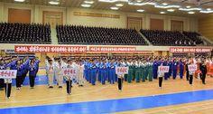 제43차 정일봉상 전국청소년학생체육경기대회 개막-《조선의 오늘》