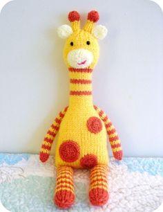 Knit Giraffe Pattern