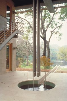 Downspout and Water Mitigation Detail Max Levy - The Architect's Newspaper