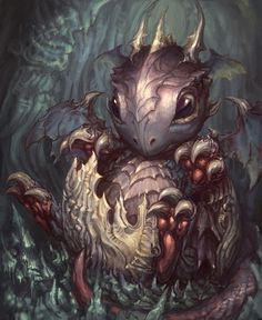 baby dragon from hell by *artkingman on deviantART
