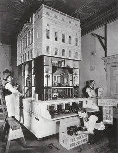 Queen Mary's Doll House, designed by Sir Edwin Lutyens in 1924.