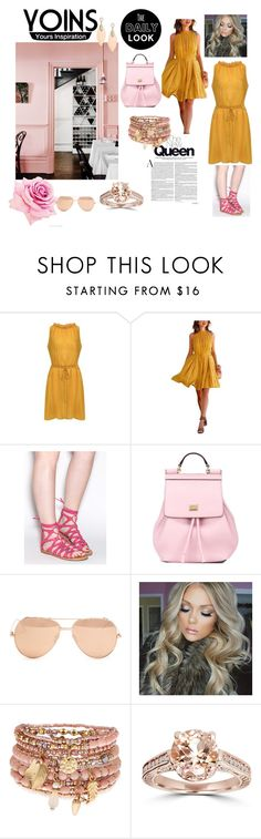 """""""The daily look"""" by fatimka-becirovic ❤ liked on Polyvore featuring Dolce&Gabbana, Linda Farrow, Accessorize and Bliss Diamond"""