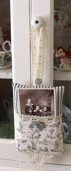 Pocket Pillow by sweetcottagedreams, via Flickr