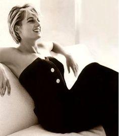 Diana by Mario Testino for Vanity Fair July 1997.