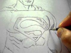 drawing superman, fernando merlo, excellent!!!