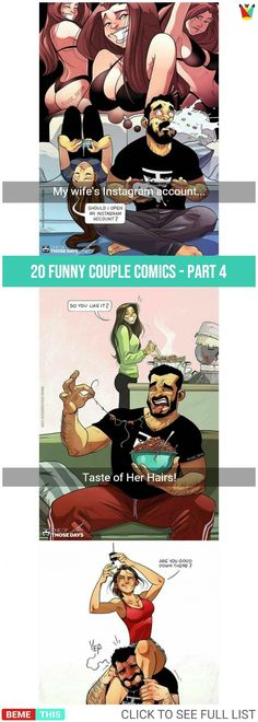 20 Brilliant Couple Comics That Will Make Your Day – Part 4 #couples #brilliantcomics #couplesproblems #oneofthosedays #artistofinstagram #humor #humour #jude_devir #bemethis