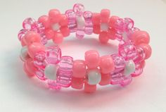 Pink Daisy Kandi Cuff  Perfect for EDC Electric by DaisyDance, $6.99