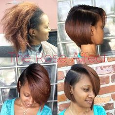This board features hairstyles with short haircuts that are beautiful. If I did do short hair, I would probably rock at least one of them.