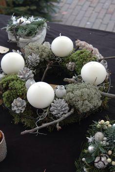 Kerstkrans BLOM BLoemwerk Op Maat #wageningen