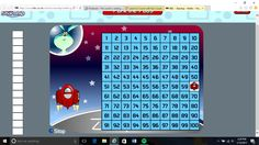 An online game that helps student find numbers between 1 and 100 by parking the pod on the correct square of the question/problem. Helps with adding 10s, units, and counting forwards or backwards.