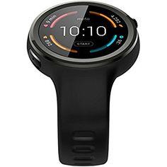 Samsung Gear S3 Frontier Smartwatch - Black/Space Grey: Amazon.co.uk: Electronics