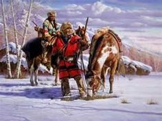 Fur Trappers, Traders, Explorers, Scouts, these are the mountain men, of the Old West.