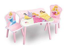 Venta Mesa y 2 sillas Princesas Dísney. Fabricado de madera. TT89331PS, IndalChess.com Tienda de juguetes online y juegos de jardin