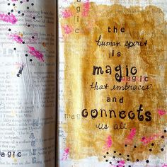 Melody Willoughby | Season of Magic | Get Messy Art Journal