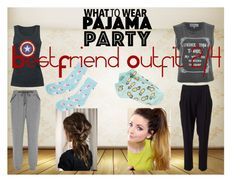 """""""Pajama Party 2/4"""" by the-baguette on Polyvore featuring Calvin Klein Underwear, Forever 21, Accessorize, Wildfox and 3.1 Phillip Lim"""