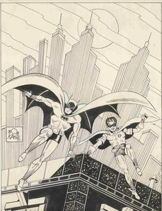 Batman and Robin by Bob Kane