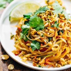 Try These 16 Pad Thai Recipes Instead of Takeout | Brit + Co
