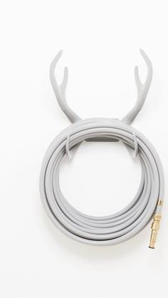 Graceful Rock hose and Reindeer wallmount with our nozzle in brass, elegant!!! gardenglory.se