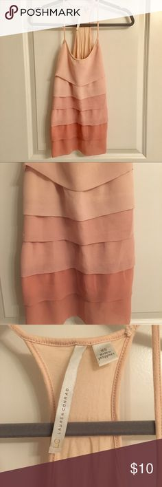 LC Lauren Conrad Pink Ombré Tank Adorable racerback tank with pink ombre detail. Good condition. LC Lauren Conrad Tops Tank Tops
