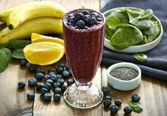 Lose a Lot of Belly Fat with Tasty Blueberry Smoothie