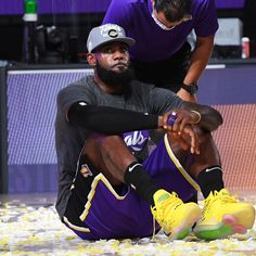 """• #WholeNewGame • on Instagram: """"@kingjames on what was going through his mind as the @lakers clinched the 2020 Western Conference title!"""" Lebron James Lakers, Chris Webber, Kobe Mamba, King Lebron, Dwyane Wade, Western Conference, Welcome To The Family, Derek Jeter, Dwight Howard"""