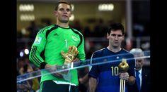 Lionel Messi y los ganadores del Balón de Oro en los mundiales