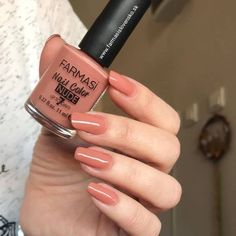 Visit the post for more. Pretty Nail Colors, Pretty Nails, Farmasi Cosmetics, Tribal Nails, Stylish Nails, Winter Nails, Natural Nails, Long Nails, Wedding Nails