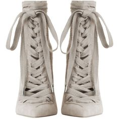 ZIMMERMANN Lace Up Ankle Boot ($995) ❤ liked on Polyvore featuring shoes, boots, ankle booties, ankle boots, short boots, pointed toe booties, lace up bootie, leather lace up boots and lace up booties